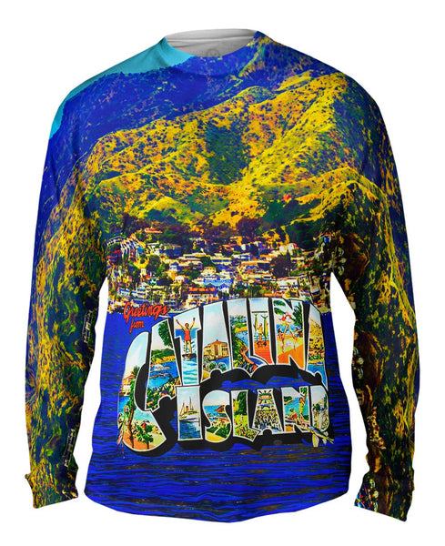 Catalina Island California 045 Mens Long Sleeve
