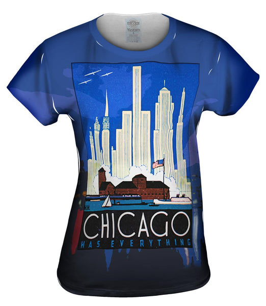 Chicago Has Everything 057 Womens Top