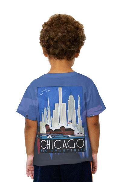 Kids Chicago Has Everything 057 Kids T-Shirt