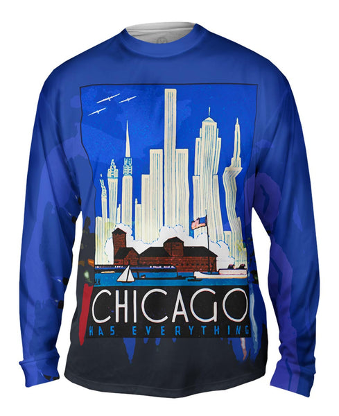 Chicago Has Everything 057 Mens Long Sleeve