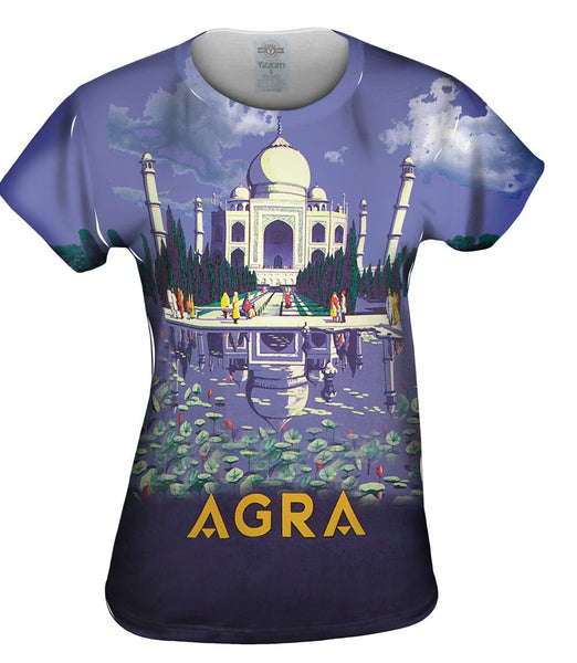 Agra Taj Mahal 045 Womens Top