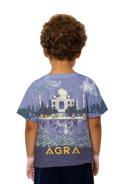 Kids Agra Taj Mahal 045 Kids T-Shirt