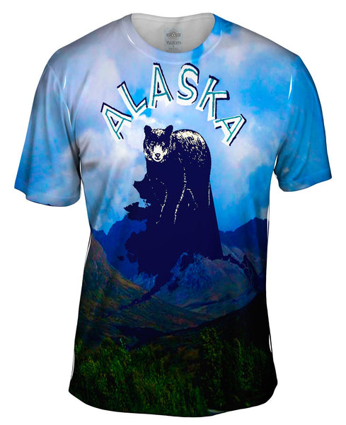Alaska Bear 055 Mens T-Shirt