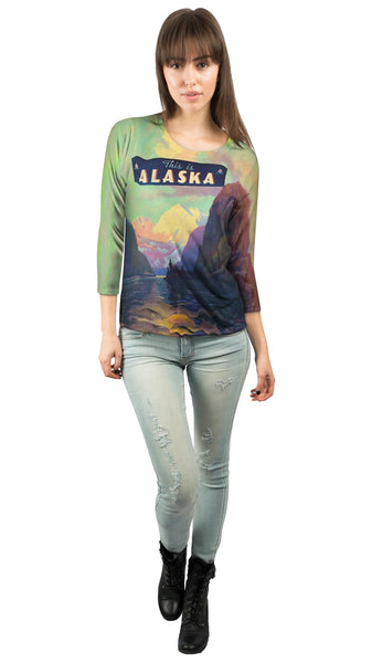 This is Alaska 062 Womens 3/4 Sleeve