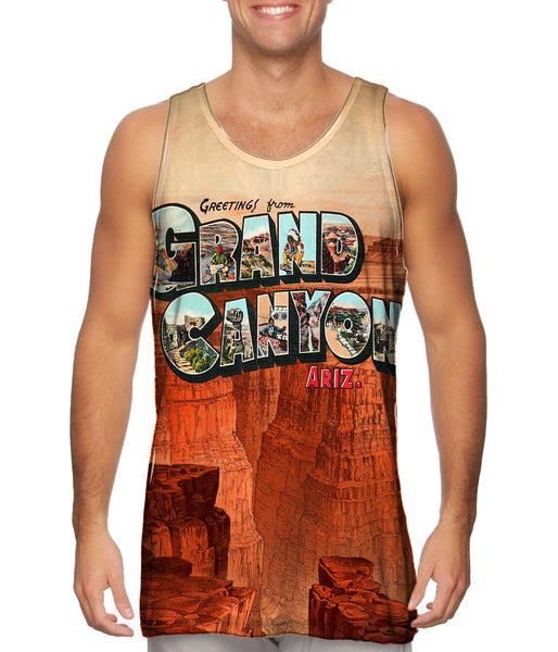 Greetings From The Grand Canyon 063 Mens Tank Top