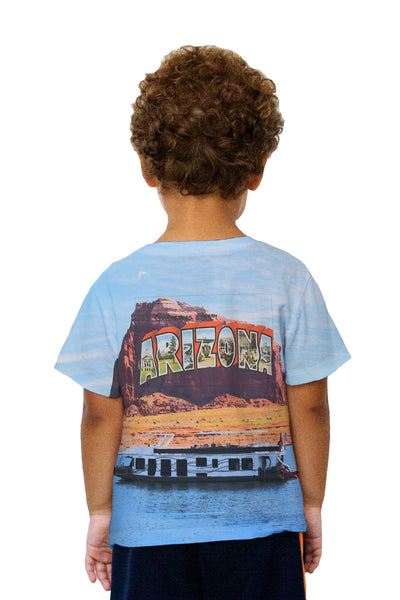 Kids Greetings From Arizona 064 Kids T-Shirt