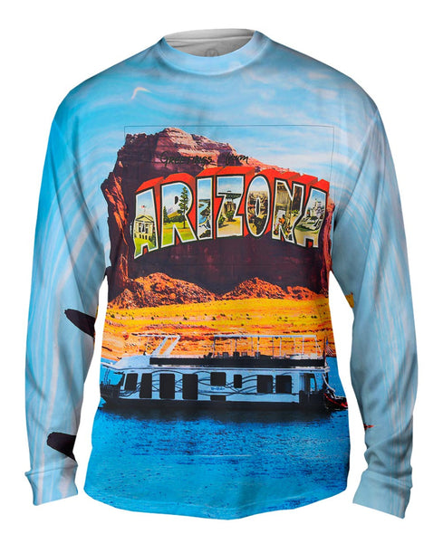 Greetings From Arizona 064 Mens Long Sleeve