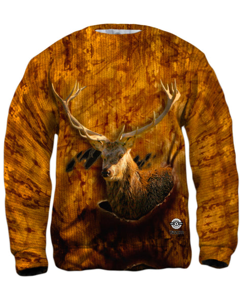 Torn Cafe Deer Mens Sweatshirt