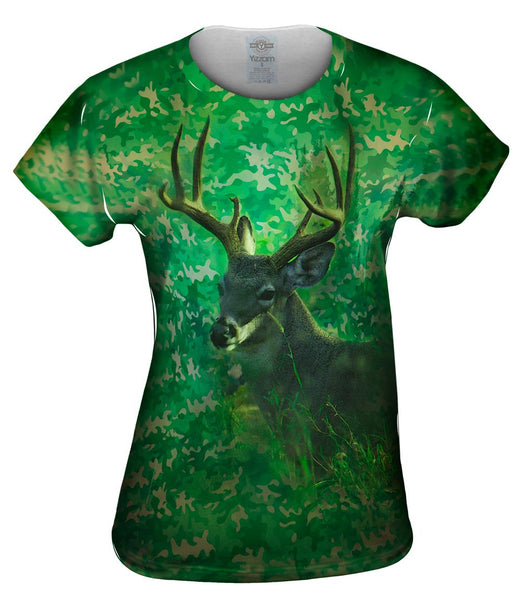 Camouflage Kelly Deer Womens Top