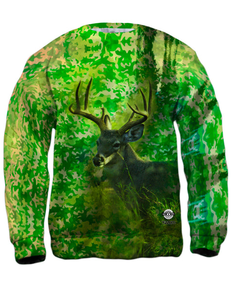 Camouflage Kelly Deer Mens Sweatshirt
