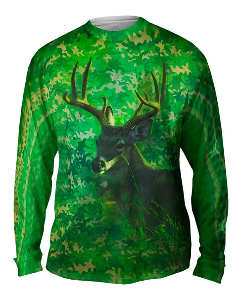 Camoflage Kelly Deer Mens Long Sleeve