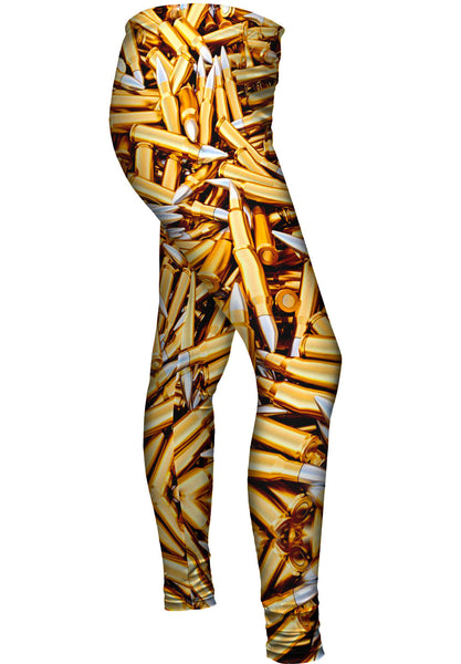 Bullets To Spare Womens Leggings
