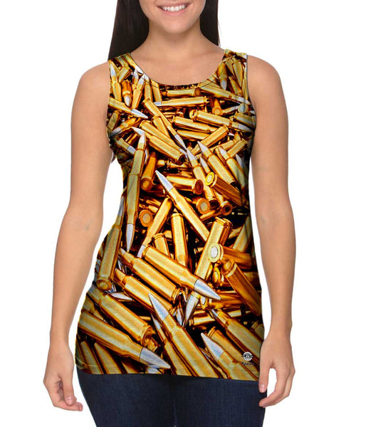 Bullets To Spare Womens Tank Top