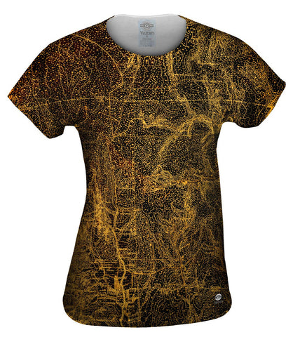 Topography Map Gold