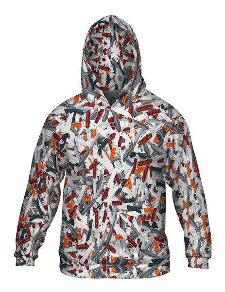 Knives To Spare Mens Hoodie Sweater