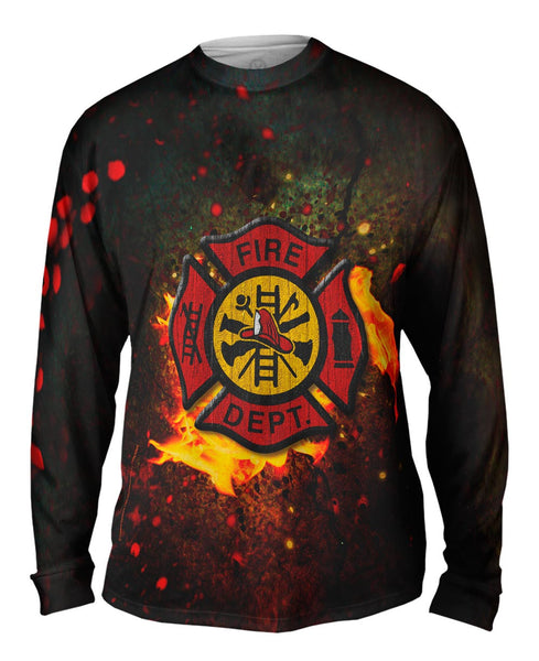 Emblem Fire Mens Long Sleeve