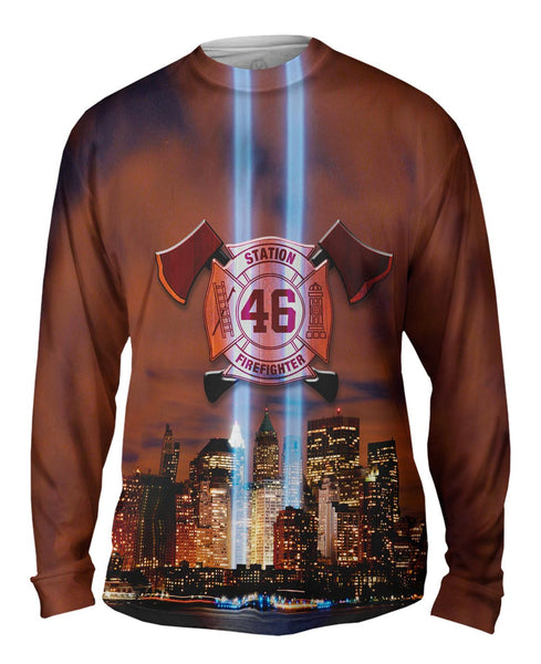 Twin Memorial Mens Long Sleeve