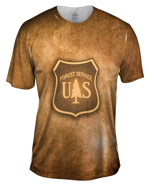 Forest Service Box Mens T-Shirt