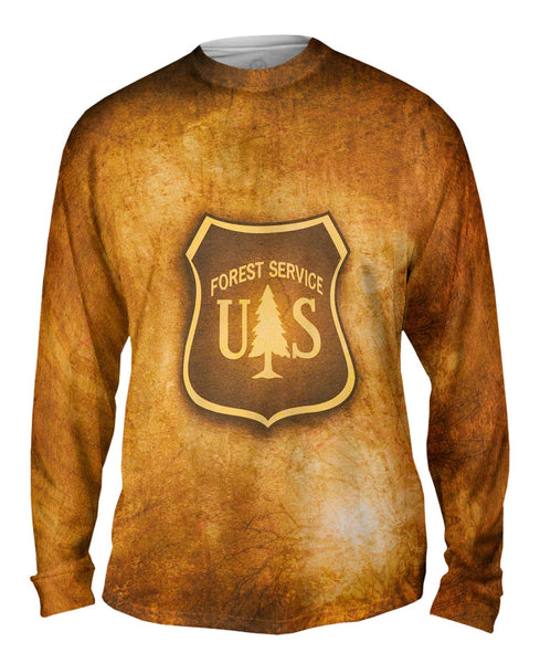 Forest Service Box Mens Long Sleeve