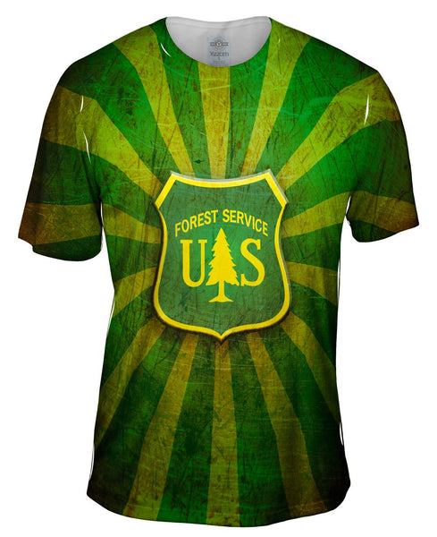 Forest Service Star Mens T-Shirt