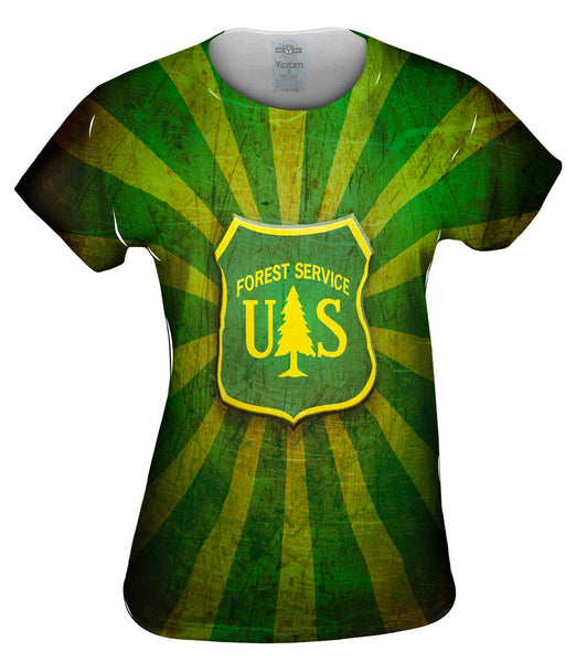 Forest Service Star Womens Top