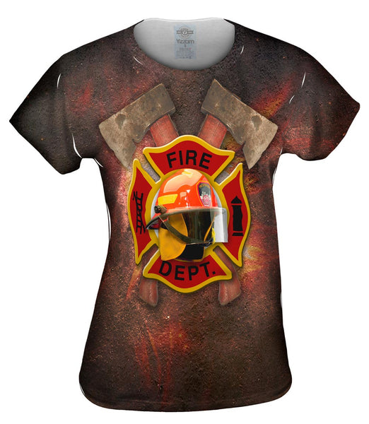 Firefighter Helmet Womens Top