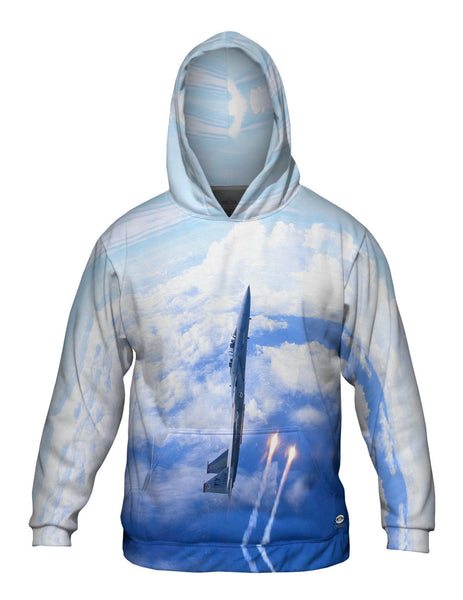Air Force F15 Vertical Deploy Mens Hoodie Sweater