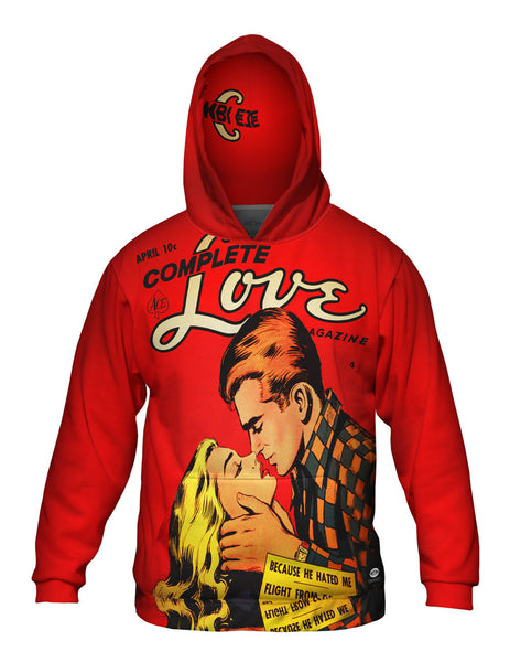 Love Scandal Comic Retro Mens Hoodie Sweater