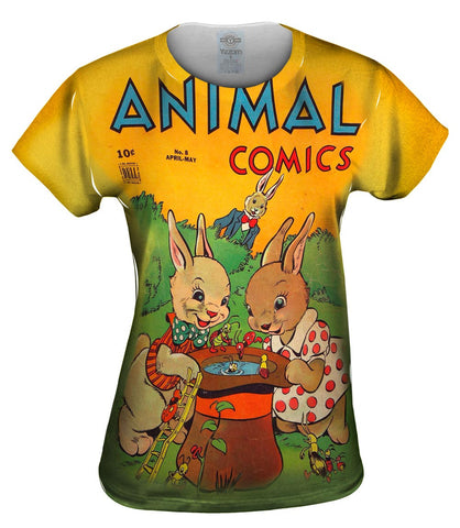 Bunny Fun Comic Retro