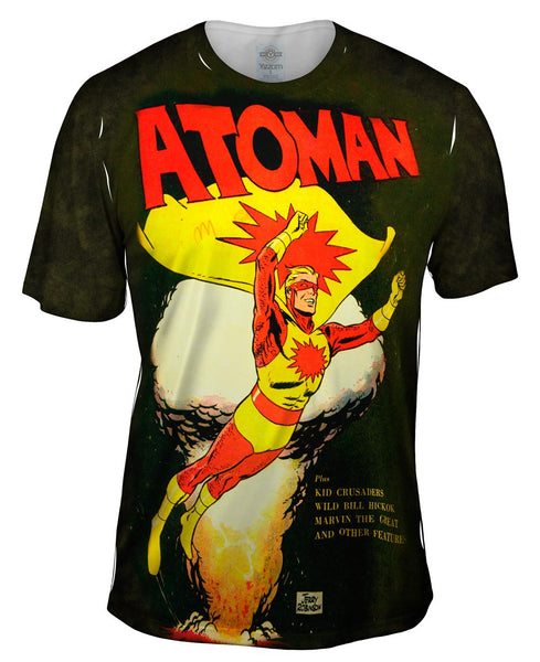 Atoman Comic Retro Mens T-Shirt