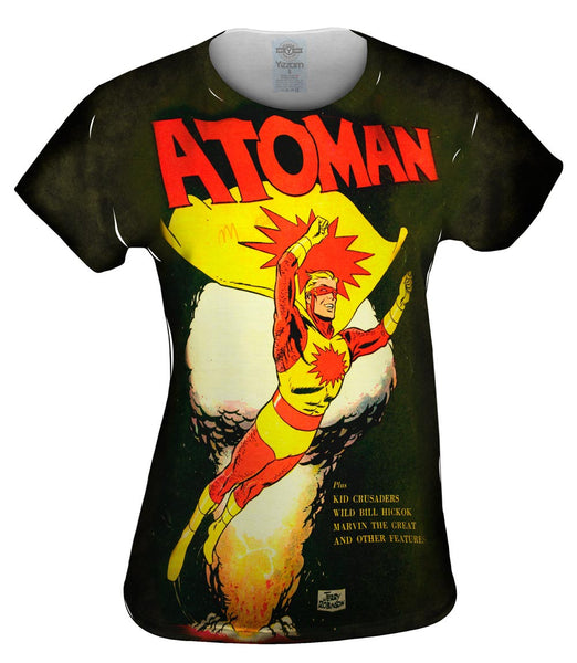 Atoman Comic Retro Womens Top