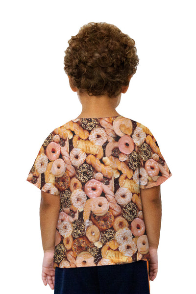 Kids Happy Donuts Kids T-Shirt