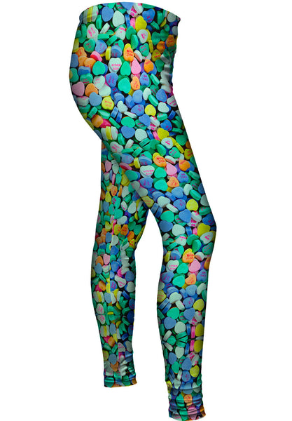 Valentine Candy Womens Leggings