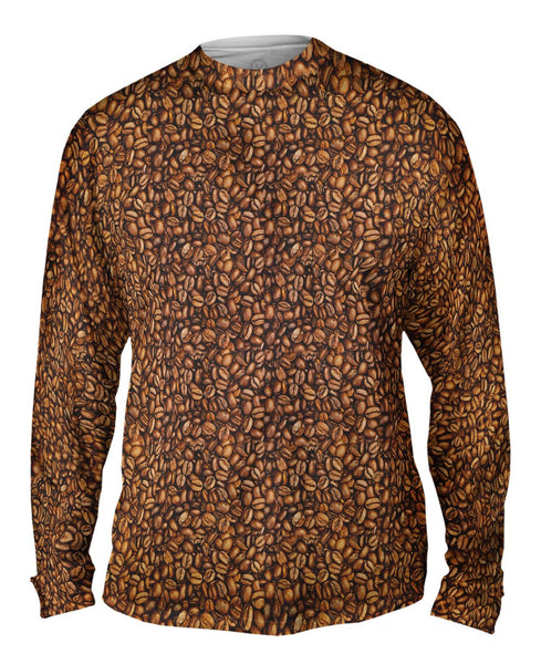 Coffee Beans Mens Long Sleeve