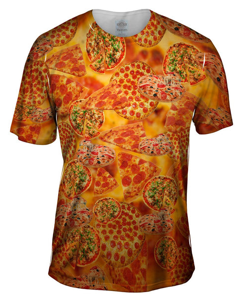 Pizza Galore Mens T-Shirt