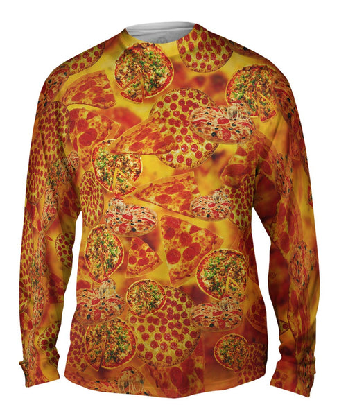 Pizza Galore Mens Long Sleeve