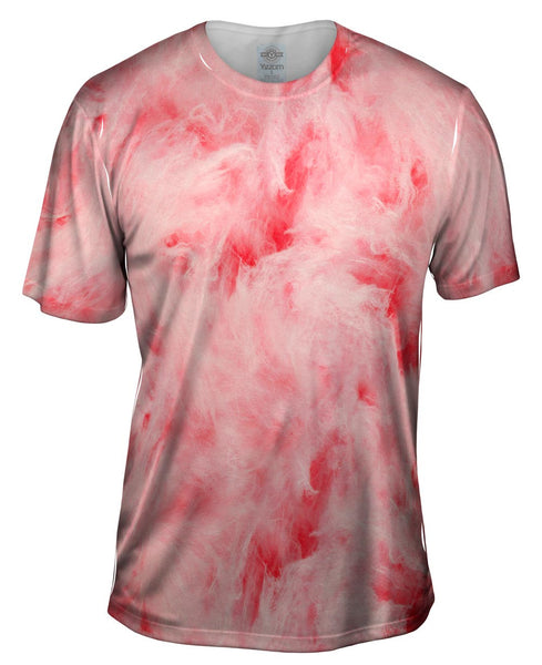 Cotton Candy Pink Mens T-Shirt