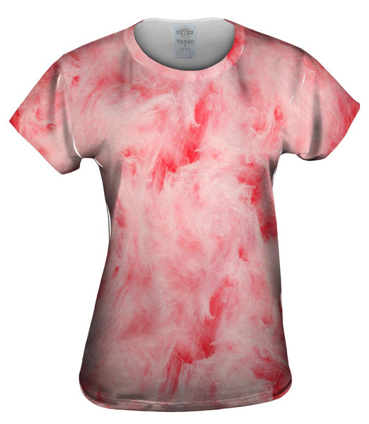 Cotton Candy Pink Womens Top