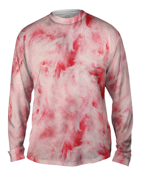 Cotton Candy Pink Mens Long Sleeve
