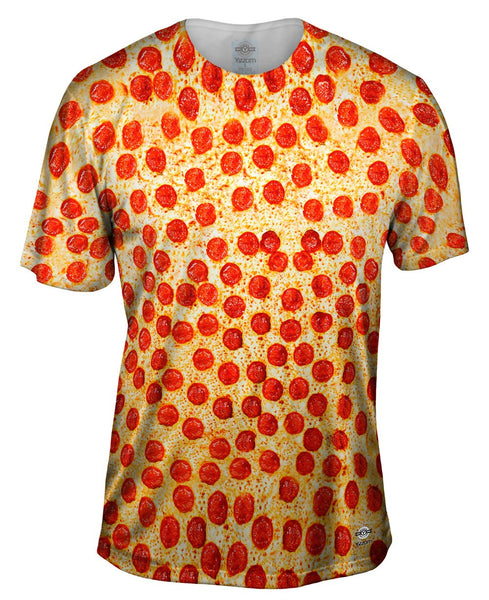 Pepperoni Pizza Mens T-Shirt