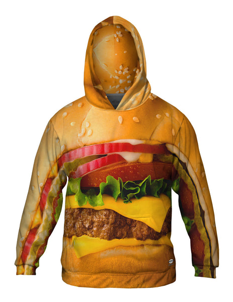 Big Burger Mens Hoodie Sweater