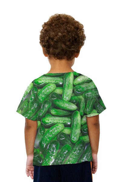 Kids Kosher Dill Pickles Kids T-Shirt