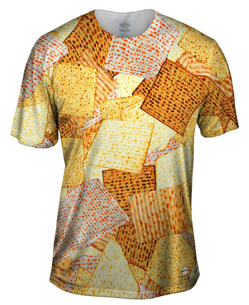 Kosher Matzah For Passover Mens T-Shirt