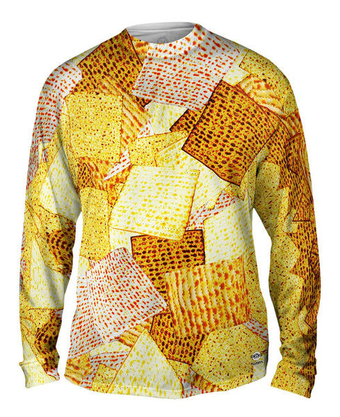 Kosher Matzah For Passover Mens Long Sleeve