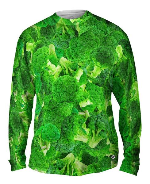 Broccoli Mens Long Sleeve