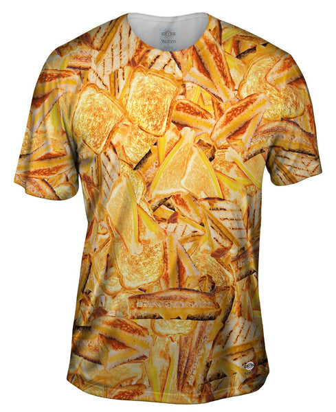 Hot Grilled Cheese Mens T-Shirt