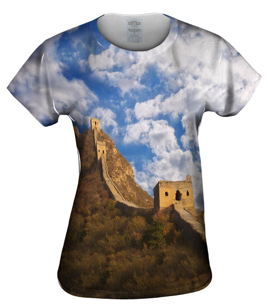 Great Wall Of China Womens Top