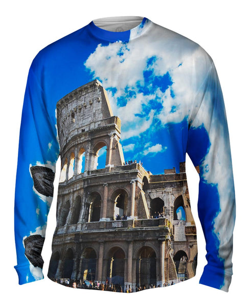 Coliseum Rome Mens Long Sleeve