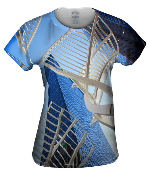 Abstract Structure Canada Womens Top