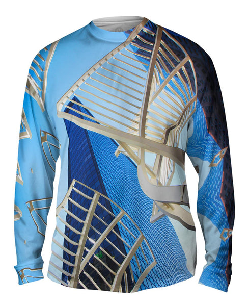 Abstract Structure Canada Mens Long Sleeve